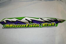 NEW ARCTIC CAT SNOWMOBILE HOOD DECAL PART # 3611-960