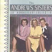 THE ANDREWS SISTERS CD - 50TH ANNIVERSARY COLLECTION **LIKE NEW**