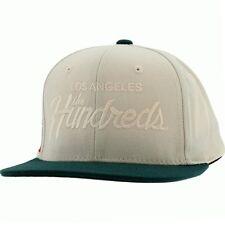 $29 The Hundreds LA Team Snapback Cap cream hat