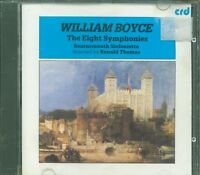 William Boyce - The Eight Symphonies Cd Eccellente