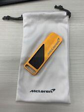 McLaren OEM Orange Carbon Fiber Key ring 14qb644cp