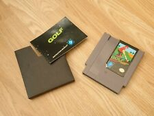 Golf NES (Nintendo) PAL - Cartridge and manual, no box