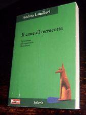 IL CANE DI TERRACOTTA Andrea Camilleri Sellerio 2002 Panorama