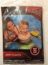 Disney Pixar Car 3 Inflatable Arm Float Age3+ New!