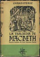 La tragedia de Macbeth - William Shakespeare. Afrodisio Aguado