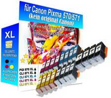 20x XL Patronen alternativ für Canon Pixma TS 5050,5051,5053,5055 Premium