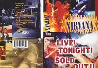 NIRVANA LIVE SOLD OUT~ VIDEO VHS PAL VIDEO~ A RARE FIND