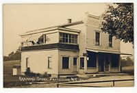 RPPC Kramer's General Store PROTECTION NY Sardinia Erie Co Real Photo Postcard