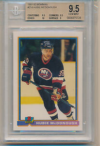 1991 Bowman Hubie McDonough (#214) (Population of 1) BGS9.5 BGS