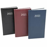 Taschenkalender 2021 10x18cm Notiz Terminplaner Kalender Timer Buchkalender