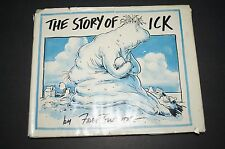 STORY OF ICK Fred Gwynne HCDJ Illustrated First Printing RARE Herman Munsters