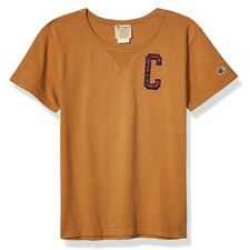 Champion LIFE Women's Short Sleeve Brown Sepia  T-Shirt