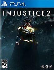 Injustice 2 (Sony PlayStation 4, 2017) Brand New