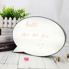 Speech Bubble Light Box LED Message Board  Note Sign Display Gift