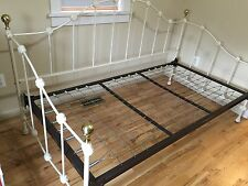 PICKUP ONLY READ Dresher Antique Heavy Daybed vintage Off White  Iron Bed Frame