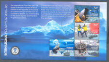 Australian Antarctic Territory Polar Year sheet fine used-cto -Science