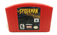 Spiderman Nintendo 64 Game Authentic Red N64 Cartridge Only Spider-Man