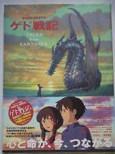 TALES from EARTHSEA Anime Art Book GEDO SENKI Gorou Miyazaki Japan w/Obi