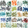 100pcs Faceted Teardrop Glass Crystal Loose Spacer Beads 5X3mm Wholesale