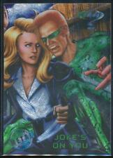 1995 Batman Forever Metal Trading Card #54 Joke's on You