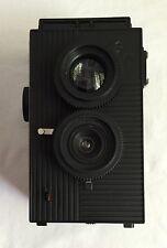 Superheadz Blackbird Fly BBF Twin Lens Reflex TLR Film Camera Black Hardly Used