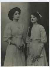 Italia, Rita Calosso, figlia del generale Lajolo Vintage silver print Tirage a