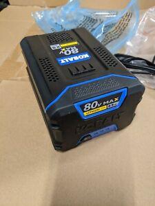 NEW OEM Kobalt KB2580-06 80V MAX 2.5Ah Rechargeable Lithium-Ion Battery