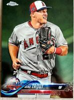 2018 Topps Chrome ASG Update Mike Trout #69