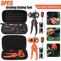 Garden Grafting Cutting Tool Fruit Trees Pruning Shears Scissors Cutting Kits UK