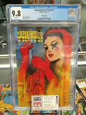 CGC 9.8~DEPARTMENT OF TRUTH #5~TULA LOTAY VARIANT C~JAMES TYNION IV STORY~IMAGE