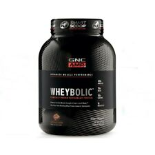 GNC AMP Wheybolic Chocolate Fudge 3.44Lb , 40 G Protein, 25 Servings,