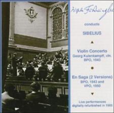 Sibelius: Violin Concerto / En Saga (2 Versions), Georg Kulenkampff