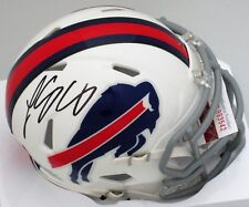 BILLS LESEAN McCOY SIGNED BILLS MINI HELMET - JSA