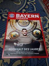 Stadionheft FC Bayern München - TSG Hoffenheim 17/18