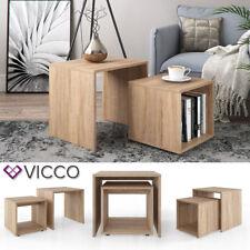 VICCO Couchtisch Beistelltisch Set   Wohnzimmer Sofatisch Kaffeetisch Tisch