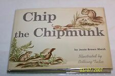 Chip the Chipmunk RARE Jesse Brown Marsh, illustrator SIGNED Bethany Tudor child