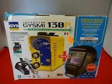 POSTE DE SOUDURE + MASQUE DE SOUDAGE A CRITAUX LIQUIDE - GYS INVERTER GYSMI 130P