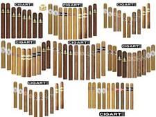 Zigarren Probiersampler, 8 verschiedene Sampler mit je 8 bis 10 Zigarren