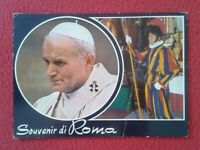 POSTAL PAPA POPE JUAN PABLO II JOANNES PAULUS JOHN PAUL GUARDIA SUIZA GUARD SWIS