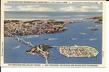(E) 1939 San Francisco World's Fair Pc #E-4 Court of the Moon