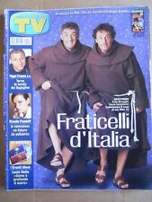 TV Sorrisi e Canzoni n°4 2002 Pippo Franco Claudia Pandolfi Lucio Dalla [D54]