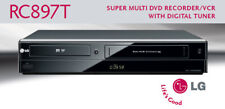 New Refurbished LG RC897T Super-Multi DVD Recorder/VCR with Digital Tuner