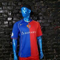 César Carignano Basel 1893 Jersey Home football shirt 2004-2006 Nike Mens Size L