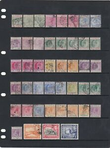 Cyprus Stamp Mix QV-KGVI As Scans (2 Scans)