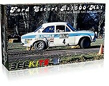 Belkits 1/24 Ford Escort RS 1600 Mk I Roger Clark # 007