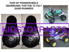PAIR NEW 8T 3A 3B POWER WHEELS QUAD RUNNER GEARBOX GEN 3 UPGRADE FOR OLDER QUADS