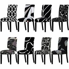 All Black Color Design Washable Big Seat Covers Stretch Slipcovers Used For Home
