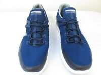 New Men's Skechers Matrixx Kingdon Slip On Athletic Shoe 52664 Navy/Gray pc 131N