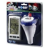 Hobby Funk-Thermometer, Gartenteich,Teich-Thermometer, Fütterungserinnerung