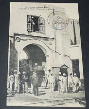 CPA CARTE POSTALE 1909 COLONIES FRANCE AFRIQUE MAROC CASABLANCA PORTE DE MARINE